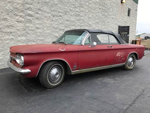 1964 Chevrolet Corvair for sale at Classic Auto Haus in Geneva IL