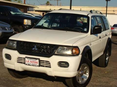 2004 Mitsubishi Montero Sport For Sale In Azusa, CA