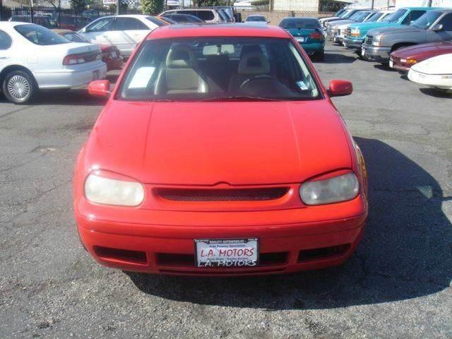 2001 Volkswagen GTI for sale at L.A. Motors in Azusa CA