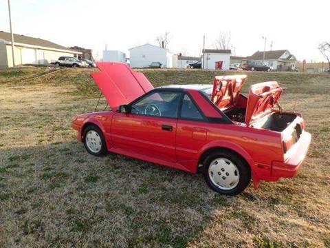 1988 Toyota MR2 for sale at Bob Patterson Auto Sales in East Alton IL