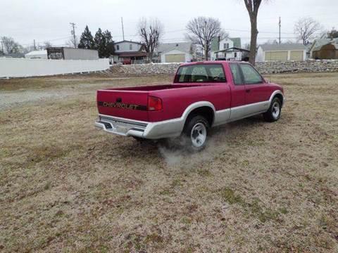 1994 Chevrolet S-10 for sale at Bob Patterson Auto Sales in East Alton IL