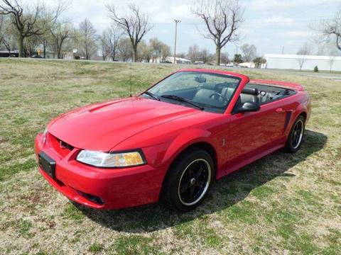 1999 Ford Mustang for sale at Bob Patterson Auto Sales in East Alton IL