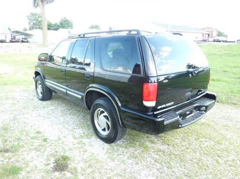 2001 Chevrolet Blazer for sale at Bob Patterson Auto Sales in East Alton IL