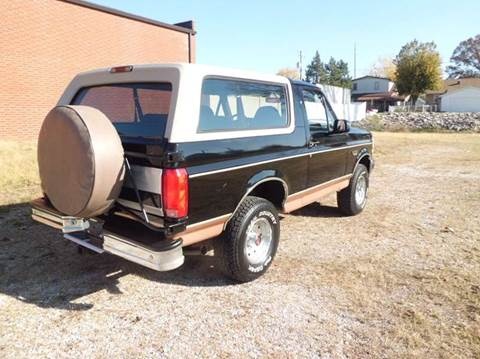 1994 Ford Bronco for sale at Bob Patterson Auto Sales in East Alton IL