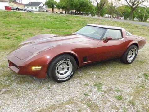 1981 Chevrolet Corvette for sale at Bob Patterson Auto Sales in East Alton IL