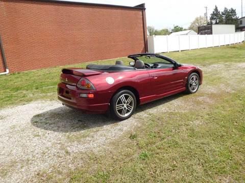 2005 Mitsubishi Eclipse Spyder for sale at Bob Patterson Auto Sales in East Alton IL