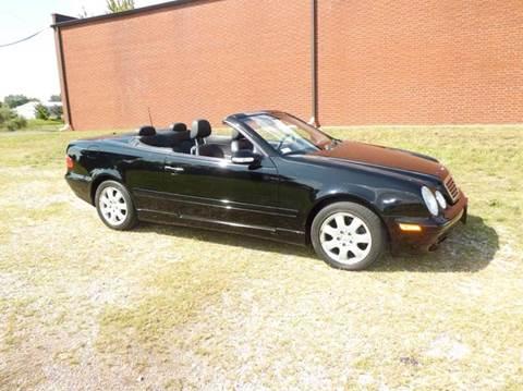 2003 Mercedes-Benz CLK for sale at Bob Patterson Auto Sales in East Alton IL