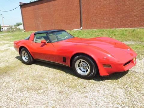 1980 Chevrolet Corvette for sale at Bob Patterson Auto Sales in East Alton IL