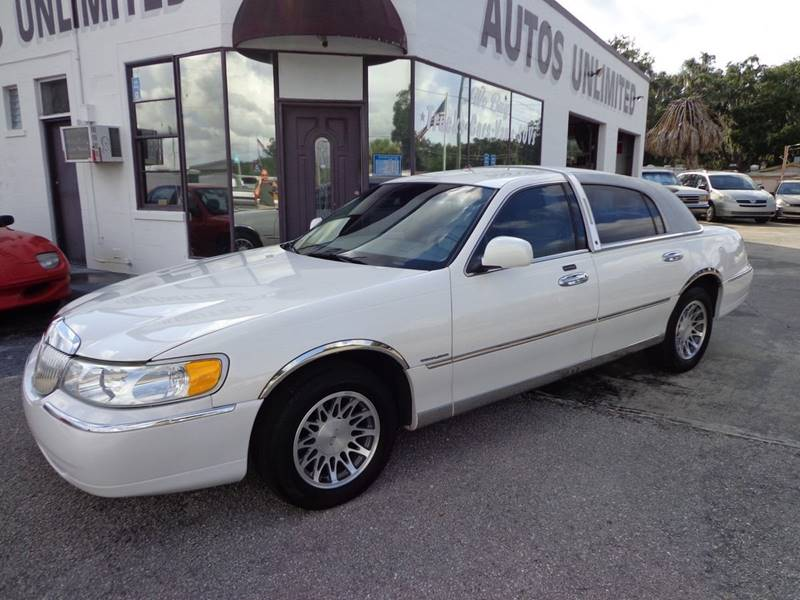 2000 Lincoln Town Car Signature 4dr Sedan In Bradenton Fl Autos