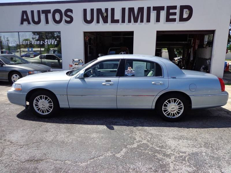 2006 Lincoln Town Car Signature Limited 4dr Sedan In Bradenton Fl
