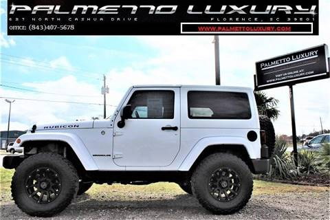 Jeep Wrangler For Sale In Sc >> Jeep Used Cars Luxury Cars For Sale Florence Palmetto Luxury