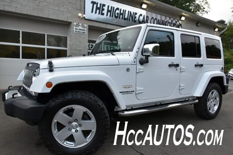 2012 Jeep Wrangler Unlimited for sale in Waterbury, CT