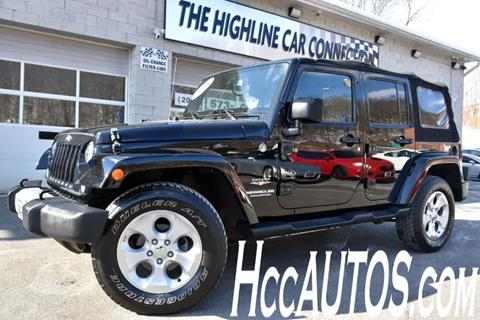 2015 Jeep Wrangler Unlimited for sale in Waterbury, CT