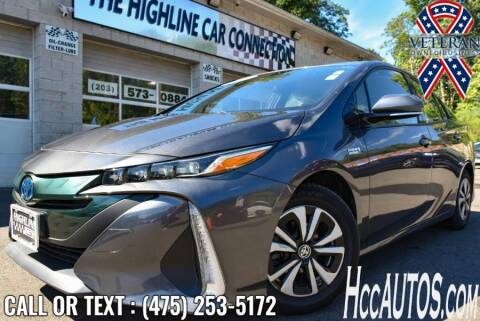 2017 Toyota Prius Prime for sale at The Highline Car Connection in Waterbury CT