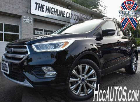 2017 Ford Escape for sale at The Highline Car Connection in Waterbury CT