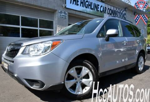 2016 Subaru Forester for sale at The Highline Car Connection in Waterbury CT
