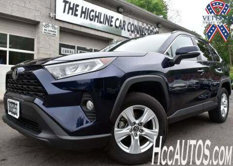 2019 Toyota RAV4 for sale at The Highline Car Connection in Waterbury CT