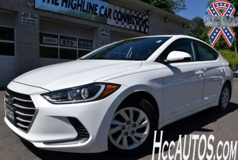 2017 Hyundai Elantra for sale at The Highline Car Connection in Waterbury CT