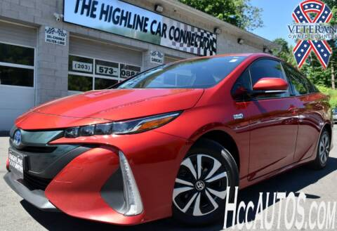 2018 Toyota Prius Prime for sale at The Highline Car Connection in Waterbury CT