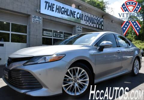 2018 Toyota Camry Hybrid for sale at The Highline Car Connection in Waterbury CT