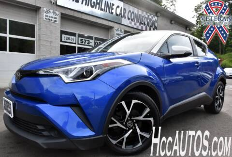 2018 Toyota C-HR for sale at The Highline Car Connection in Waterbury CT