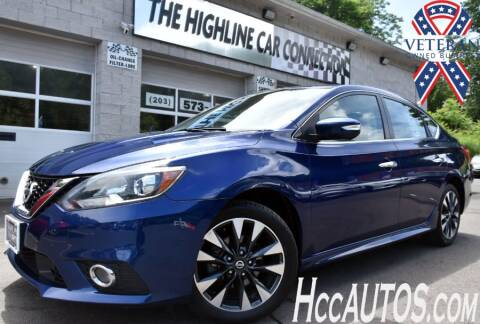 2019 Nissan Sentra for sale at The Highline Car Connection in Waterbury CT