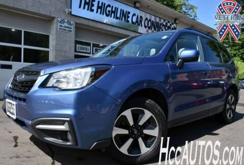 2018 Subaru Forester for sale at The Highline Car Connection in Waterbury CT