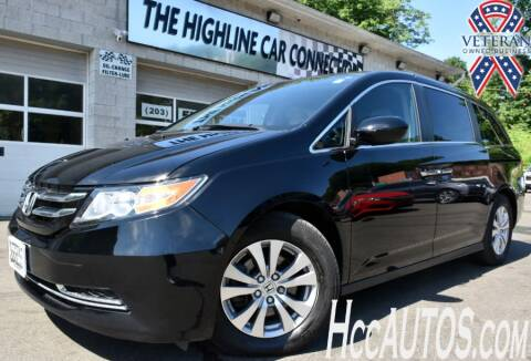 2017 Honda Odyssey for sale at The Highline Car Connection in Waterbury CT