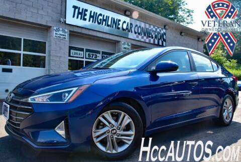 2019 Hyundai Elantra for sale at The Highline Car Connection in Waterbury CT