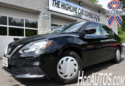 2017 Nissan Sentra for sale at The Highline Car Connection in Waterbury CT
