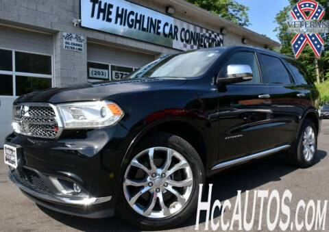 2017 Dodge Durango for sale at The Highline Car Connection in Waterbury CT