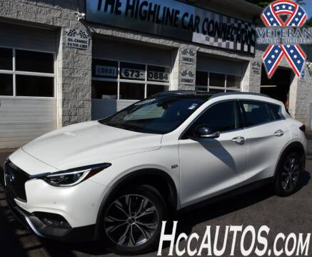 2018 Infiniti QX30 for sale at The Highline Car Connection in Waterbury CT