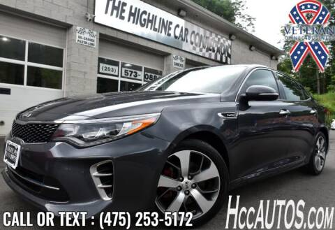 2017 Kia Optima for sale at The Highline Car Connection in Waterbury CT