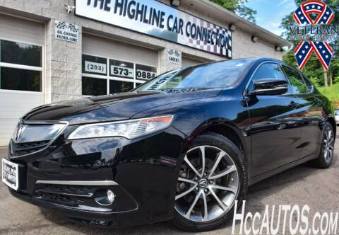 2017 Acura TLX for sale at The Highline Car Connection in Waterbury CT
