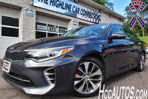 2016 Kia Optima for sale at The Highline Car Connection in Waterbury CT