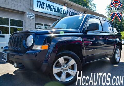2014 Jeep Patriot for sale at The Highline Car Connection in Waterbury CT