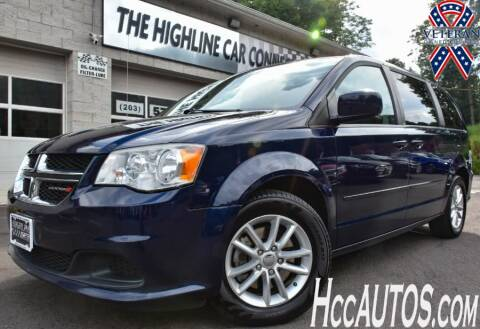 2014 Dodge Grand Caravan for sale at The Highline Car Connection in Waterbury CT