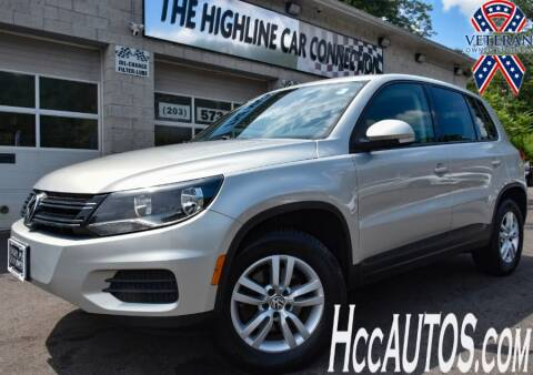 2013 Volkswagen Tiguan for sale at The Highline Car Connection in Waterbury CT