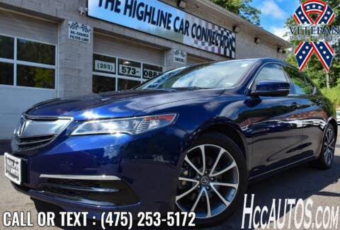 2016 Acura TLX for sale at The Highline Car Connection in Waterbury CT