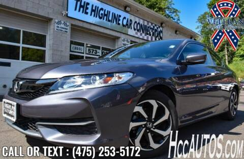 2017 Honda Accord for sale at The Highline Car Connection in Waterbury CT