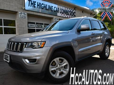 2017 Jeep Grand Cherokee for sale at The Highline Car Connection in Waterbury CT