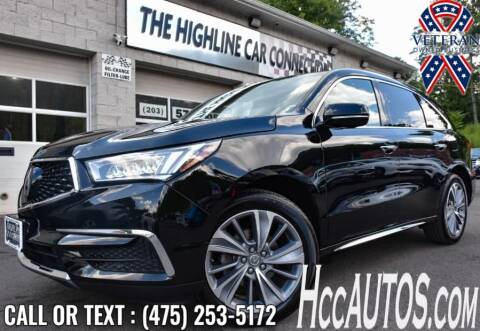 2017 Acura MDX for sale at The Highline Car Connection in Waterbury CT