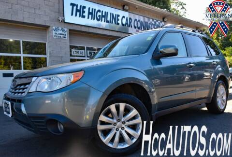 2011 Subaru Forester for sale at The Highline Car Connection in Waterbury CT