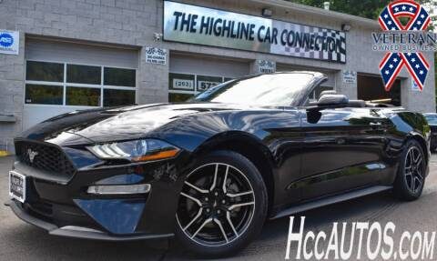 2019 Ford Mustang for sale at The Highline Car Connection in Waterbury CT