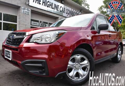 2017 Subaru Forester for sale at The Highline Car Connection in Waterbury CT