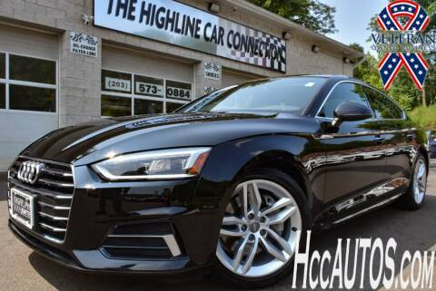 2019 Audi A5 Sportback for sale at The Highline Car Connection in Waterbury CT