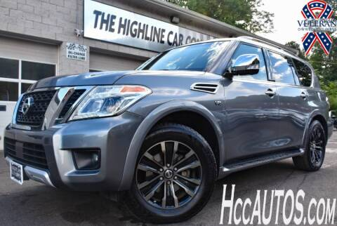 2017 Nissan Armada for sale at The Highline Car Connection in Waterbury CT