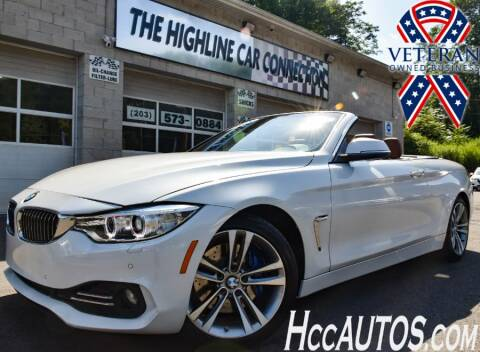 2015 BMW 4 Series for sale at The Highline Car Connection in Waterbury CT