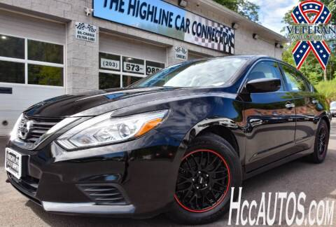 2017 Nissan Altima for sale at The Highline Car Connection in Waterbury CT
