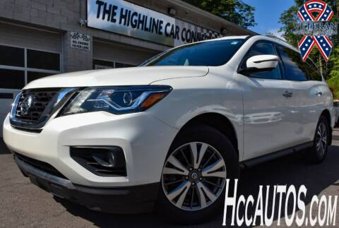 2017 Nissan Pathfinder for sale at The Highline Car Connection in Waterbury CT